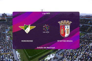 Moreirense vs Sporting Braga